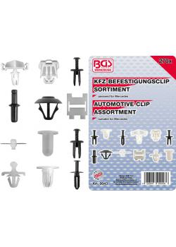 Car clip range - Mercedes - 270 pcs.