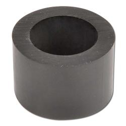 Rubber roll - black