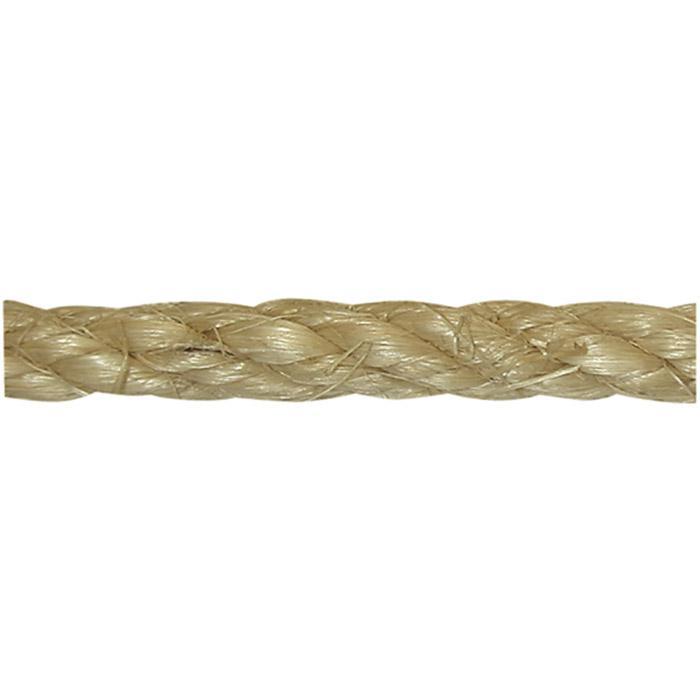 Sisalrep - tvinnat - naturfiber - olika längder - på spole