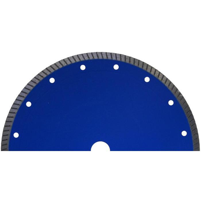 Diamantscheibe - extra dünn - Turbo-Segmentierung