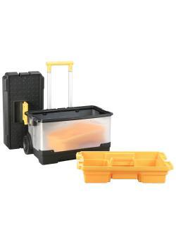 Werkzeugkoffer-Set McPlus Pro M R25L - mit Trolley und einem Koffern - Außenmaße (B x T x H) 630 x 375 x 735 mm