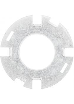 Adapter-Paar - PFERD APM 50,8/32-40 - für gezopfte, stationäre Bürsten