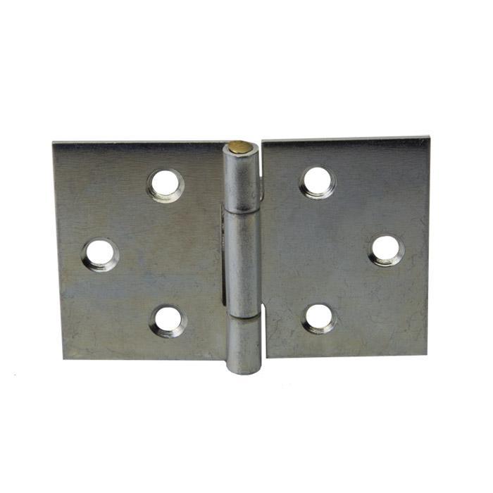 Scharnier - DIN 7954 D - gerollt - breit - verzinkt - Preis per VE