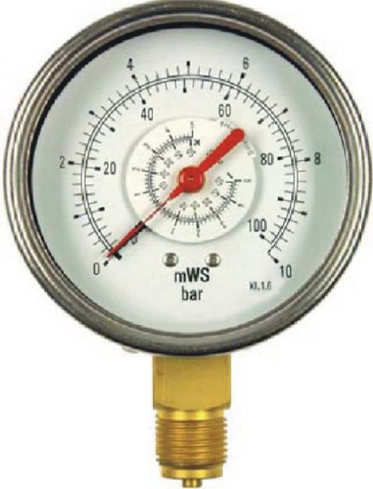 Differenzdruck - Manometer