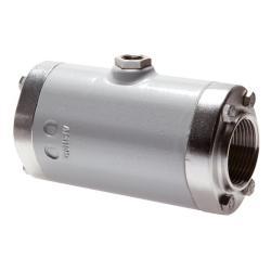 """Vanne à manchon - pneumatique - aluminium - manchon en caoutchouc naturel - filetage femelle G 3/4"""" à G 4"""" - DN 20 à 100 - PN 0 à 6"""