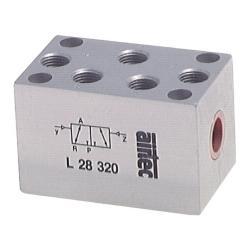 3/2 voies - valve pneumatique à impulsions - gamme L