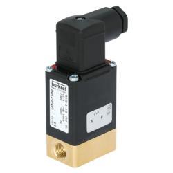 """Électrovanne 2/2 - normalement fermée - pour eau et eau usée - de 0 à 10 bar - G 1/4"""" - 12V DC"""
