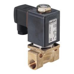 """Électrovanne 2/2 - normalement fermée - pour eau, vapeur, carburant, medium hydrauliques, alcools et solvants organiques - 0 à 25 bar - G 1/4"""" à 1/2"""""""