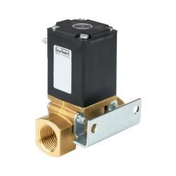 """Magnetventil - 2/2-Wege - Messing - für brennbare Medien - IG Rp 1/2"""" - stromlos geschlossen (N.C.) - PN 0 bis 3,5"""