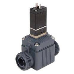 Solenoid Valves - 2/2-Way - Aggressive Medias - 0,5 Up To 6 Bar - Currentless Lo