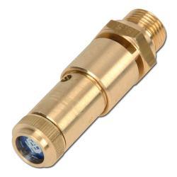TÜV Sicherheitsventil - Druckluft - Messing - DN 10 - 1 bis 50 bar
