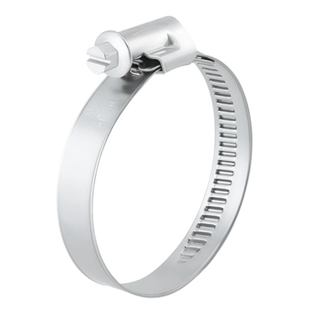 Schneckengewindeschelle NORMA TORRO - Stahl verzinkt - Spannbereich-Ø 150 bis 320 mm - Breite 9 mm