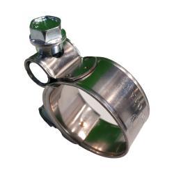 Gelenkbolzenschelle Clamp 211 - W1 oder W2 - Spannbreich-Ø 17-19 bis 240-251 mm - Bandbreite 18 bis 30 mm - VE 20, 50 oder 100 Stück - Preis per Stück