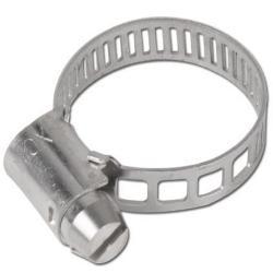Slangklämma - DIN 3017 - bandbredd 5 mm - rostfritt