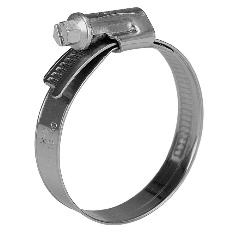 Schneckengewindeschelle NORMA Torro - Stahl verzinkt - Spannbereich-Ø 16 bis 160 mm - Breite 12 mm