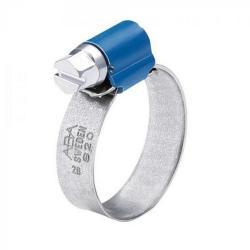 Zacisk śrubowy ABA Nova - zakres mocowania Ø 8 do 80 mm - szerokość 9 mm - stal ocynkowana