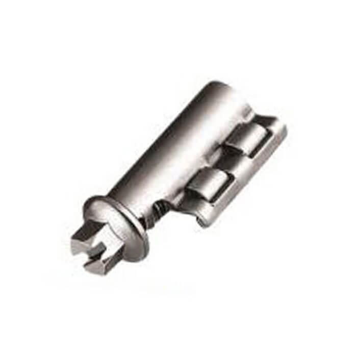 Têtes pliables pour système de cerclage sans fin SXB - acier inoxydable W4 - longueur 25 m - largeur 8 ou 13 mm
