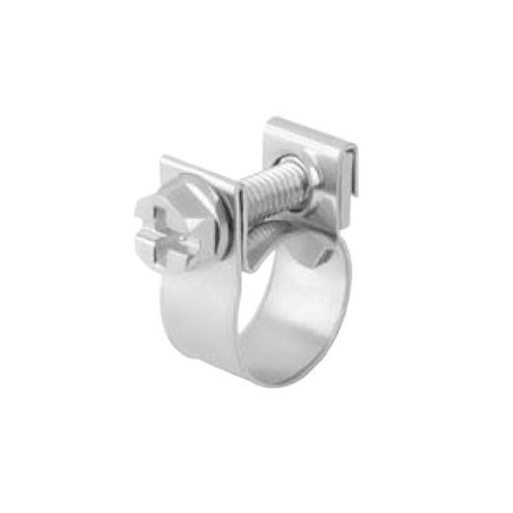 Spannbackenschelle ABA Mini - Bandbreite 9 mm - Stahl verzinkt - Spannbereich Ø 7 bis 22 mm - Preis per Stück