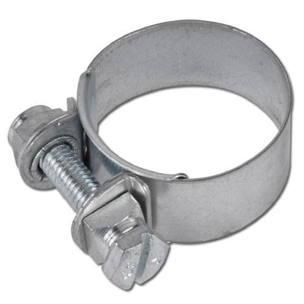 Spannbackenschelle NORMA S - Bandbreite 15 mm - Spannbereich Ø 20 bis 122 mm - Stahl verzinkt