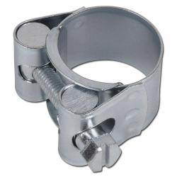 Hinge bolt clamps - 25 mm wide - steel - Ø 64 to 335 mm