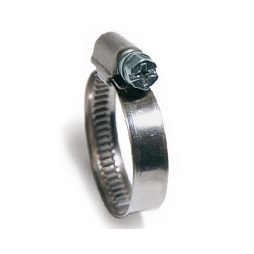 Collier de serrage DIN3017 - W1 - plage de serrage 10-16 à 130-150 mm - paquet de 25, 50 ou 100 pièces - prix par pièce