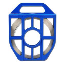 Bande pour collier de serrage à filet hélicoïdal - acier inoxydable - largeur 13mm - longueur 25m