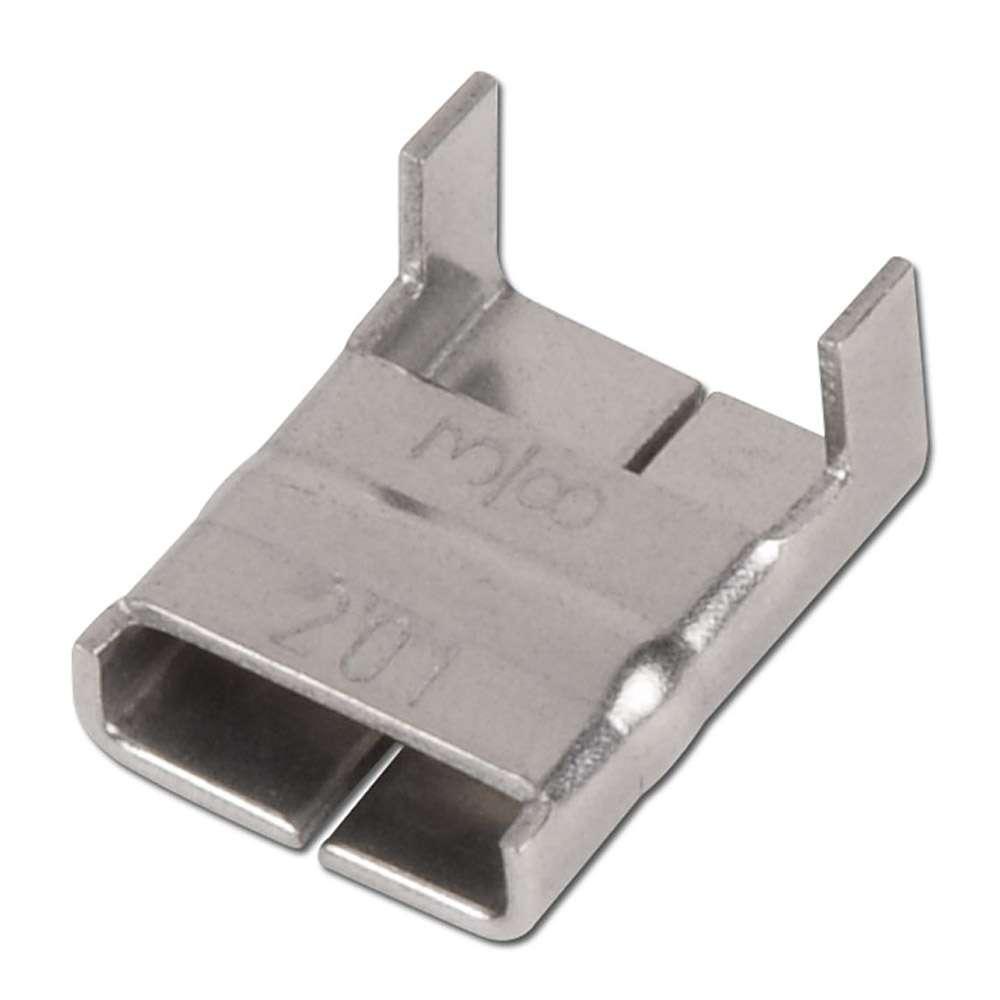 Band-It Schlaufe - Valustrap - Edelstahl -  Breite 9,5 bis 19,1 mm - VE 100 Stück - Preis per VE