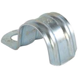 Metal fixing clamp - for cables and pipes - clamping range-Ø 10 to 63 mm - Price per pack