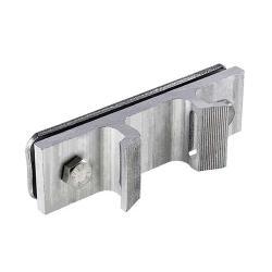 Konsole für Schilderbefestigung an Pfosten oder Masten - Aluminium oder Edelstahl - Preis per Stück