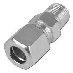 """Inskruvningskoppling - lätt - rostfritt stål - 1/8"""" NPT - för rör-Ø 4 mm"""