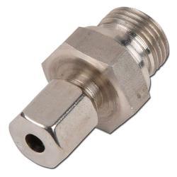Klämringskoppling - rak - rostfritt stål - kraftig (S) - tum (BSP)