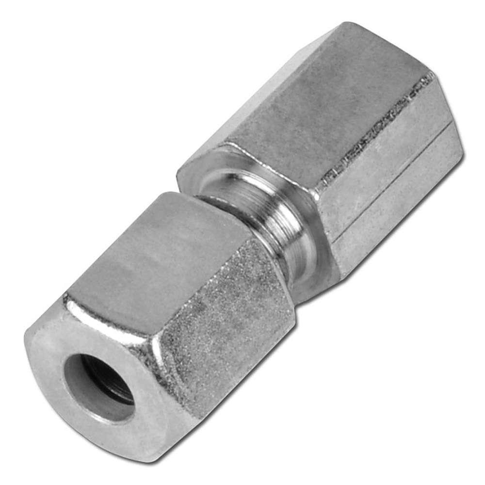 Aufschraubverschraubung - Stahl - metrisch - Ausführung L - gerade
