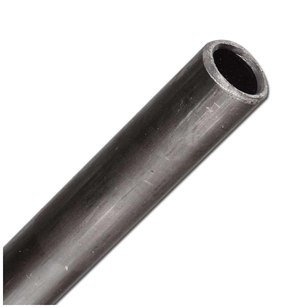 Präzisionsstahlrohr - Stahl schwarz phosphatiert - Rohr-Ø 10 bis 35 mm - Wandstärke 2,5 mm - VE 6 m - Preis per m