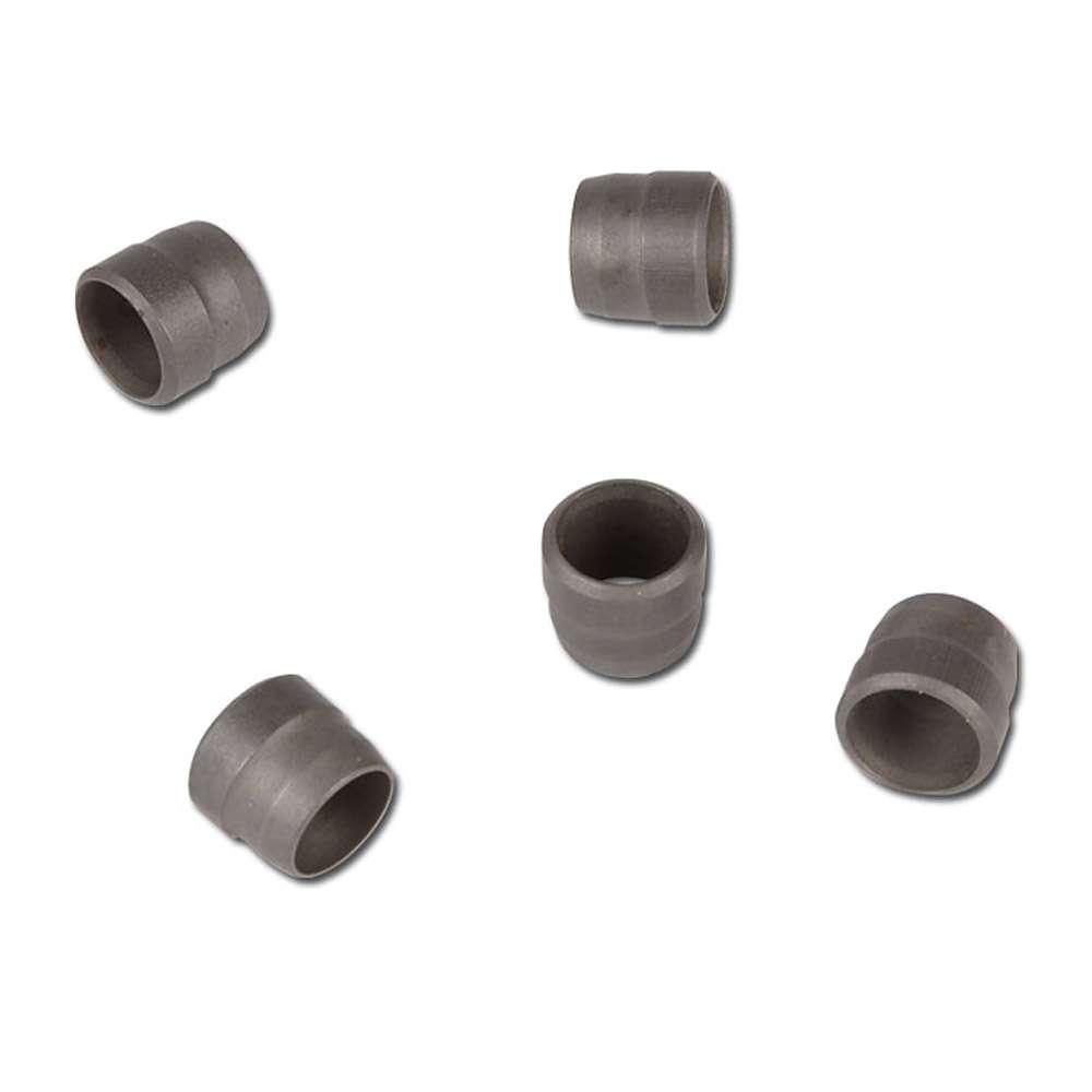 Klämring - rostfritt stål - mycket lätt modell (LL)