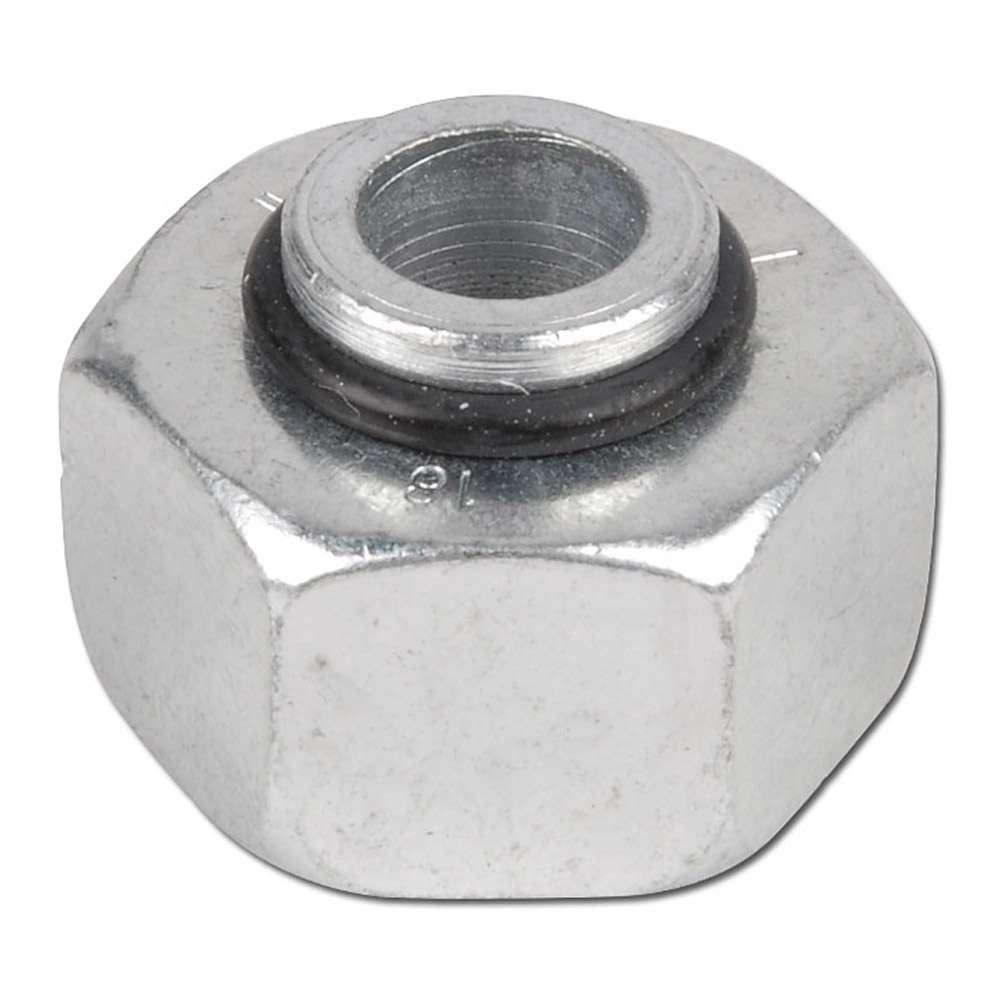 Tillslutningskona för röranslutning - o-ring - stål - lätt (L) - metrisk
