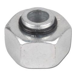 Verschlusskegel für Rohranschluß - Stahl - mit O-Ring - metrisch - Ausführung L - Schneidringverschraubung