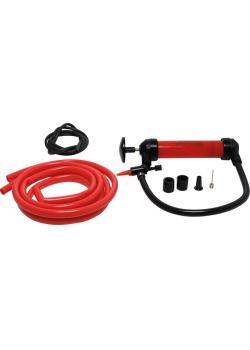 Multifunktionspump - Plast - 0,56 kg - Slang för pumpning och påfyllning