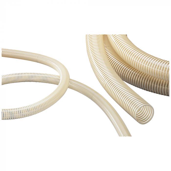 NORPLAST® PVC-C 384 AS - antistatisch - schwer - Erdungslitze - Innen-Ø 25 bis 100-102 mm - Länge 25 und 50 m
