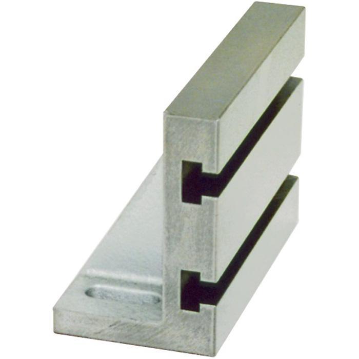 Aufspannwinkel - mit 2 T-Nuten - DIN 876/1 - Gusseisen - geschliffen