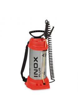 "High Pressure Sprayer ""INOX PLUS"" - with FPM seal - 6 bar - back-carrying - spray tube 50 cm - filling capacity 10 l - total capacity 13 l"
