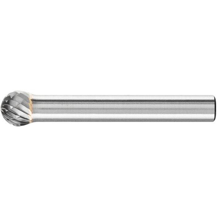 Frässtift - PFERD - Hartmetall - Schaft-Ø 6 mm - Kugelform - TOUGH-Zahnung
