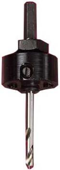 "Lochsägen Aufnahme - Ø 32-210mm - Bi-Metall Schaft-Ø 8,75 mm ""Starrett"" Typ XA 1"