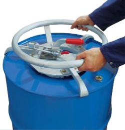 Drum Turner For Steel, Steel Cover And Plastic-L-Ring Barrels