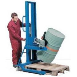 Fassfilter FW 16-F - Stahl lackiert - mit Hydraulik-Fußpumpe - für 60 bis 220-l-Fässer