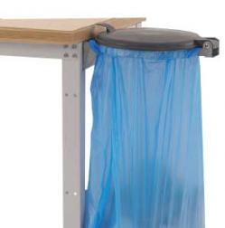 Müllsackhalter  - zur Befestigung am Arbeitsplatz
