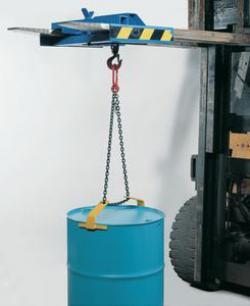 Appareil de suspension pour fûts - longueur de  1,64 m - charge portante de 300