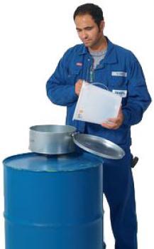 Fasstrichter - Stahl verzinkt - Volumen 8 Liter