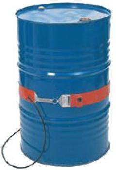 Flexibelt värmebälte - för 200-liters fat - till +120°C