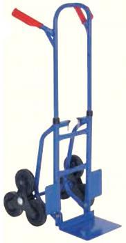 Stairway truck - carrying capacity 175 kg - steel - solid rubber tyre