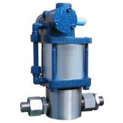 High Pressure Pump - Peumatic-Hydraulic - 0.4 Up To 14.0 l/min